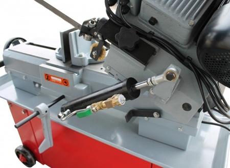 44350085 Piła taśmowa do cięcia metalu Holzmann BS 712N (prędkość cięcia: 22-34-49-64 m/min, wymiary taśmy: 2368x0,8x19 mm, moc: 1,2 kW)