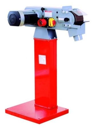 44350100 Szlifierka taśmowa do metalu Holzmann MSM 100L 230V (wymiary taśmy: 1220x100 mm, prędkość taśmy: 19 m/min, moc: 2,1 kW)
