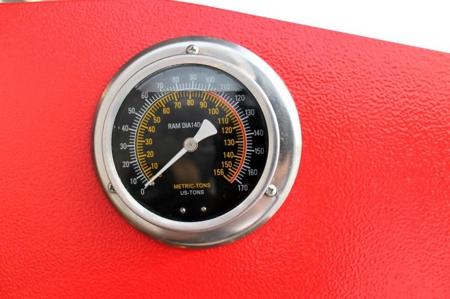 44350110 Prasa warsztatowa hydrauliczna Holzmann WP 100H (siła nacisku: 100 T)