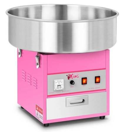 45643438 Maszyna do waty cukrowej bez pokrywy Royal Catering RCZK-1200-W (moc: 1,2kW, rozmiar garnka: 52cm)