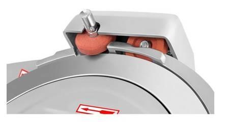 45643464 Krajalnica elektryczna do wędlin, mięsa i serów Royal Catering RCAM 250EXPERT (moc: 180W, średnica noża: 250mm, grubość cięcia: 0-12mm)