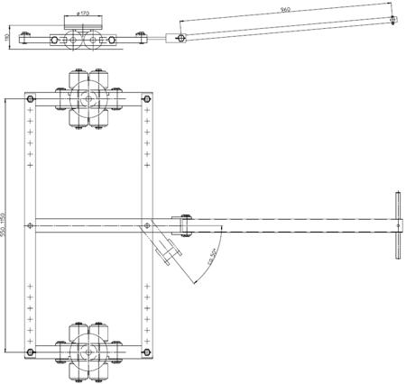 4994006 Podwozie tandemowe TL6 (nośność: 6T)