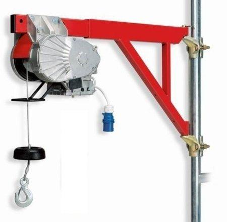 55547196 Wciągarka budowlana elektryczna Bellussi HE 150 Veloce (udźwig: 150 kg, długość liny: 40m)