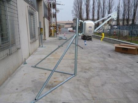 55547207 Wciągarka budowlana elektryczna Bellussi HE 325 MF, obrotowa bez podstawy (udźwig: 300 kg, długość liny: 50m)