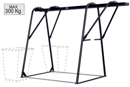 55547225 Podstawa dla wciągarek do wciągarki HE 300 MF (udźwig: 300 kg)