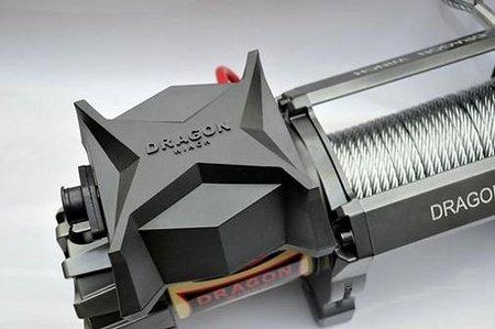 55925178 Wyciągarka samochodowa Dragon Winch Highlander DWH 9000 HD 12V, z liną syntetyczną 26m, hamulec dynamiczny (udźwig: 9000 lb/ 4082 kg, silnik: 9KM)