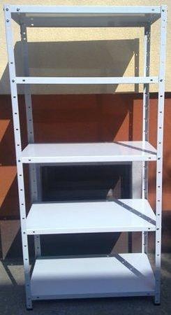 77156799 Regał metalowy, 6 półek (wymiary: 3000x900x700 mm, obciążenie półki: 150 kg)