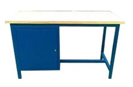 77156837 Stół warsztatowy, drzwi (wymiary: 1500x750x900 mm)