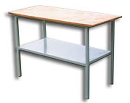 77156869 Stół warsztatowy z półką (wymiary: 1500x750x900 mm)