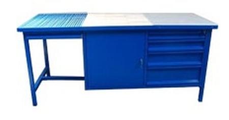 77156914 Stół spawalniczy, 4 szuflady, 1 szafka (wymiary: 2000x800x900 mm)