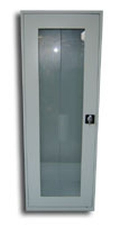 77157063 Szafa biurowa przeszklona, 1 drzwi, 5 półek (wymiary: 1800x600x460 mm)