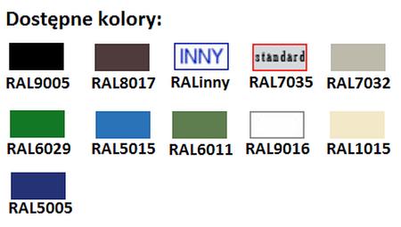 77157081 Szafa biurowa żaluzjowa, 2 półki (wymiary: 1040x1000x435 mm)