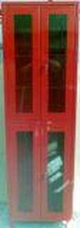 77157295 Szafka przeszklona, 4 drzwi (wymiary: 1900x600x450 mm)