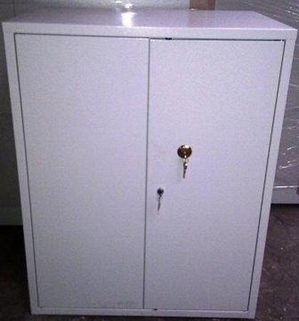 77157300 Szafka na trucizny z dwoma zamkami, 3 półki (wymiary: 1000x800x420 mm)
