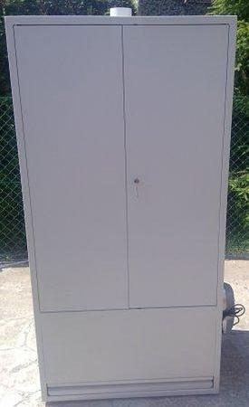 77157304 Szafa do suszenia odzieży (wymiary: 2000x970x600 mm)