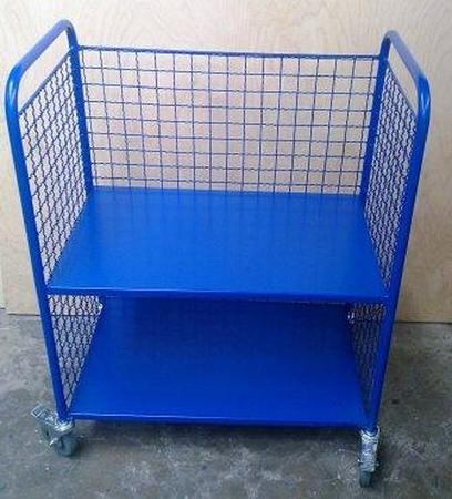 77157337 Wózek 2-półkowy osiatkowany (wymiary: 800x450x900 mm)