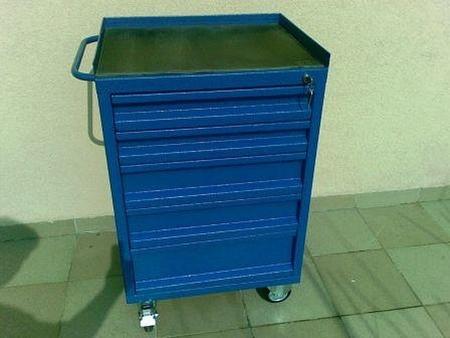 77157347 Wózek narzędziowy, 4 szuflady (wymiary: 1100x800x700 mm)
