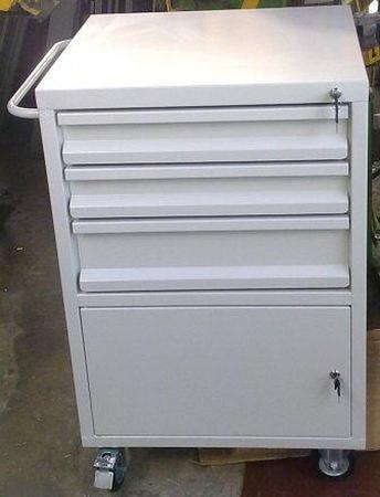 77157355 Wózek narzędziowy, 3 szuflady, 1 szafka (wymiary: 1000x600x500 mm)