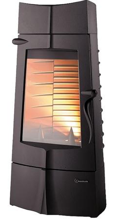 86854945 Piec wolnostojący Invicta 10kW Chamane 10 (górna średnica wylotu spalin: 180mm, kolor: antracyt)
