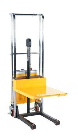 99724820 Wózek paletowy/platformowy podnośnikowy elektryczny GermanTech PL 1500 HST-EL (max wysokość: 85-1500 mm, udźwig: 400 kg, długość wideł: 650 mm)
