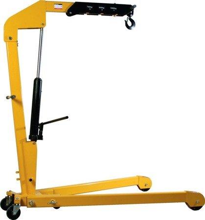 99724830 Żurawik warsztatowy GermanTech (udźwig w pozycji: 700-800-1000 kg)