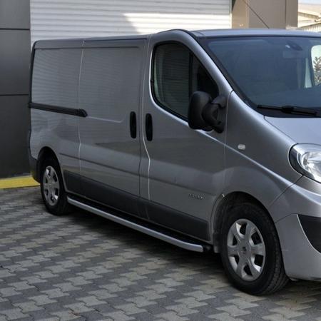 DOSTAWA GRATIS! 01655760 Stopnie boczne - Renault Trafic 2001-2014 long (długość: 252 cm)