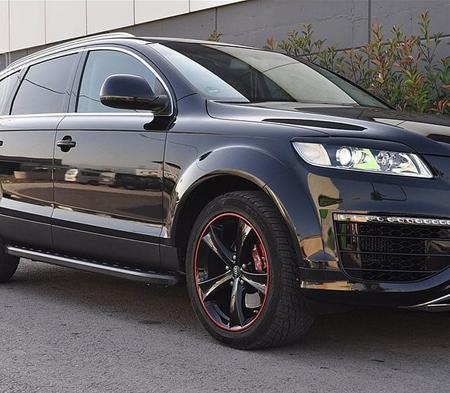 DOSTAWA GRATIS! 01655884 Stopnie boczne, czarne - Audi Q7 2006-2014 (długość: 205-210 cm)
