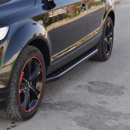 DOSTAWA GRATIS! 01655886 Stopnie boczne, czarne - BMW X5 F15 2013+ (długość: 193 cm)