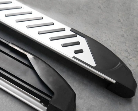 DOSTAWA GRATIS! 01656312 Stopnie boczne, paski - Kia Sportage 2010- (długość: 171 cm)