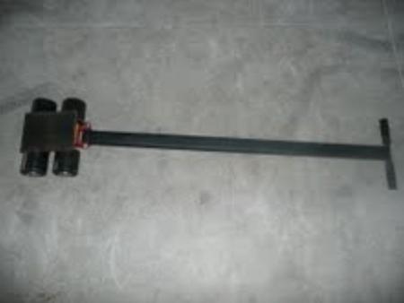 DOSTAWA GRATIS! 03015122 Zestaw rolek transportowych przód i tył PS-STCM90 (łączny udźwig: 9,0 T)