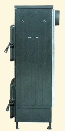 DOSTAWA GRATIS! 12528455 Piec kominkowy Wamsler 8kW Kamino Classic 8 na drewno i węgiel (bez szyby)