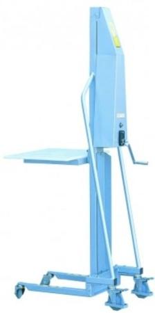 DOSTAWA GRATIS! 310410 Wózek podnośnikowy (udźwig: 100 kg, wymiary wideł: 400x330x40 mm, wysokość podnoszenia min/max: 130-1500 mm)