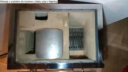 DOSTAWA GRATIS! 92238169 Kuchnia kaflowa 11kW Dominika z szybą (kolor: zieleń)