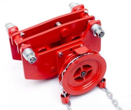 DOSTAWA GRATIS! 9588168 Wózek szynowy do wciągników przejezdnych (udźwig: 1,0 T)