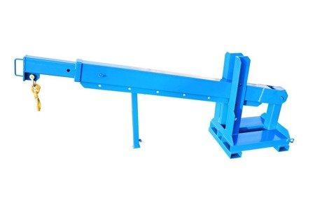 DOSTAWA GRATIS! 99724833 Dźwig do wózka widłowego GermanTech (długość ramienia: od 500 do 3600 mm)