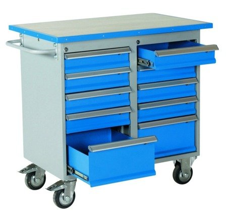 99724946 Wózek. szafka stalowa narzędziowa GermanTech (wymiary: 1025x600x900 mm)