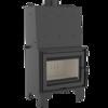 30046805 Wkład kominkowy 12kW AQUARIO Z14 PW  z płaszczem wodnym, wężownicą (szyba prosta)