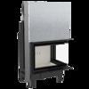 30053246 Wkład kominkowy 13kW MBO 13 BS Gilotyna (prawa boczna szyba bez szprosa, drzwi podnoszone do góry)